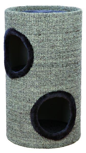 Cat Tower Adrian, grau, Grundfläche: ø 35 cm Höhe: 60 cm
