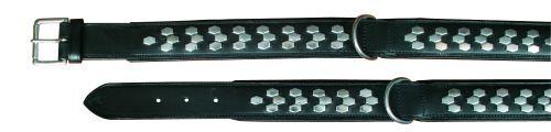 Active Halsbänder, Beschlag, schwarz, 65-75 cm/40 mm