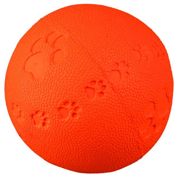 Ball, Naturgummi, mit Quietscher, ø 6 cm