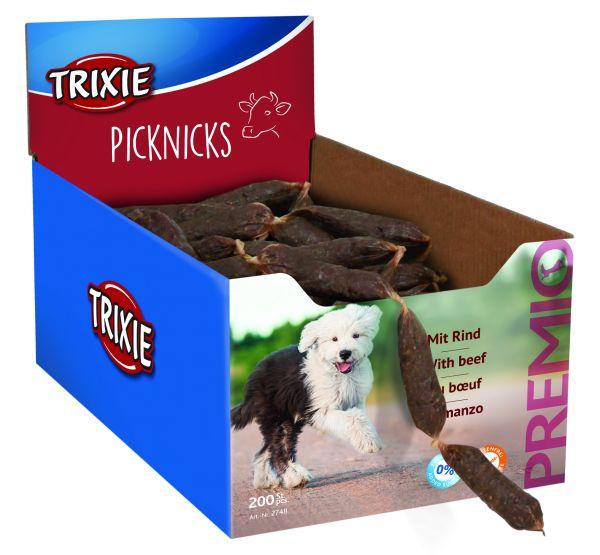 200 PREMIO Picknicks Würste, Rind 8 cm/St., 8 g/St.