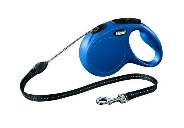 flexi New CLASSIC M: 5 m, blau