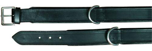 Active Halsband Leder, 38-45 cm / 40 mm