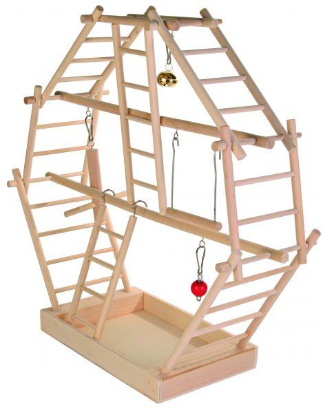 Holz-Leiterspielplatz, 44×44×16 cm