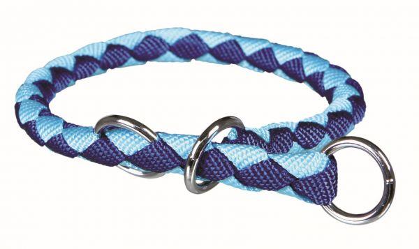 Cavo Würger, L: 47-55 cm/ø 18 mm, blau/hellblau