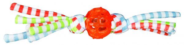 Ball mit Fransen, TPR/Stoff ø 5 cm/24 cm