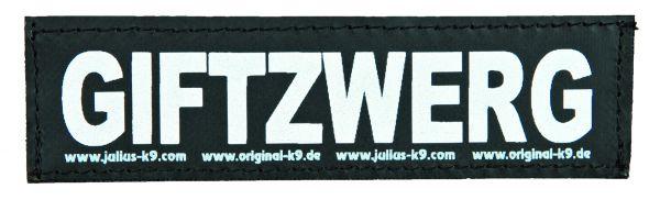 2 Julius-K9 Klettsticker S, GIFTZWERG