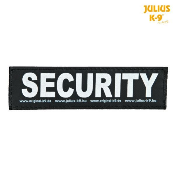 2 Julius-K9 Klettsticker L, SECURITY