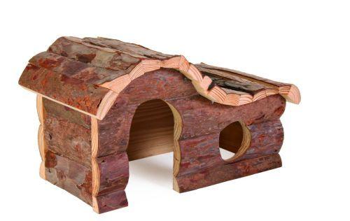 Hanna Blockhaus für Hamster, 26×16×15 cm