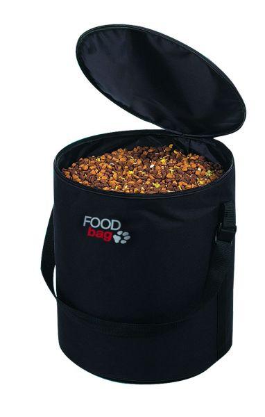 Foodbag, für ca. 10 kg Trockenfutter, schwarz