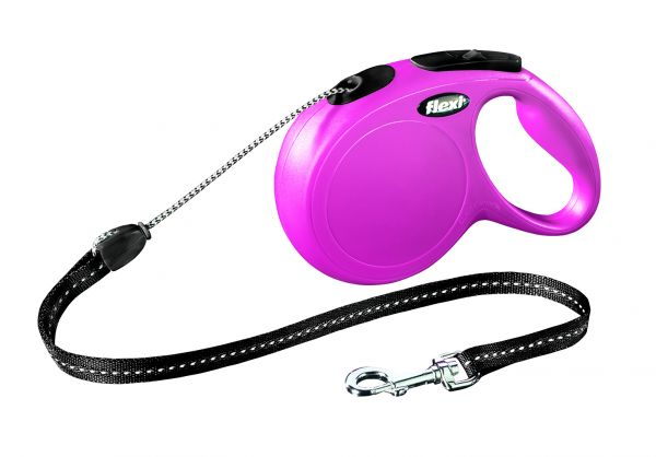 flexi New CLASSIC, Seil M: 8 m, pink