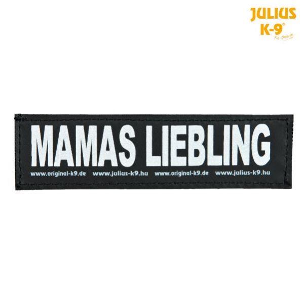 2 Julius-K9 Klettsticker L, MAMAS LIEBLING