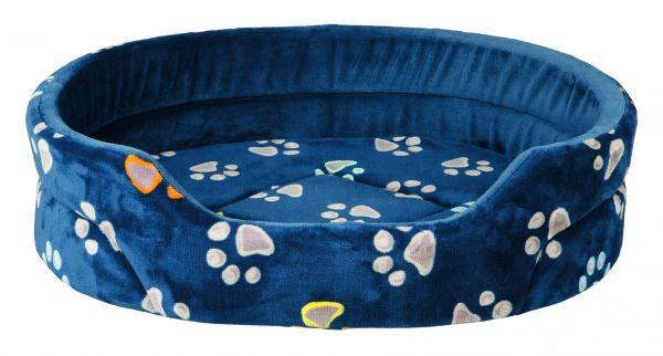 Bett Jimmy 75 × 65 cm, blau