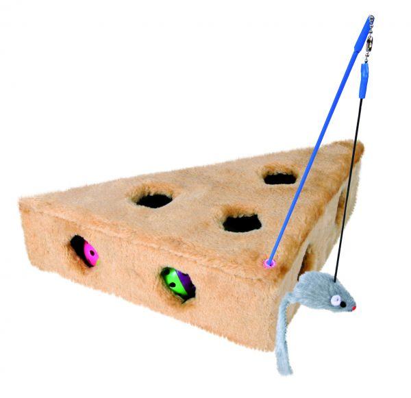 Cat's Cheese mit Spielangel & 3 Spielbällen