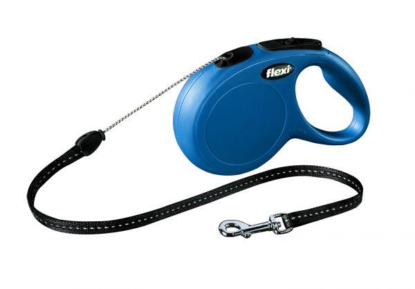 flexi New CLASSIC LONG S: 8 m, blau