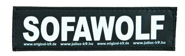 2 Julius-K9 Klettsticker S, SOFAWOLF