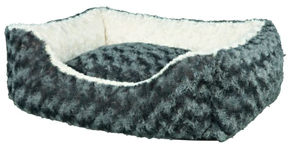 Bett Kaline 80 × 65 cm, grau/creme