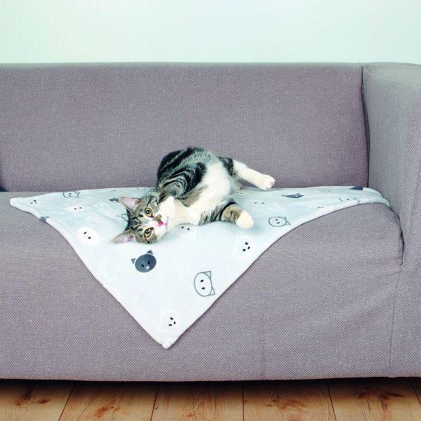 Decke Mimi 70 × 50 cm, grau