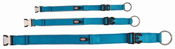 Experience Halsband, extra breit M-L: 37-50 cm/30 mm, blau