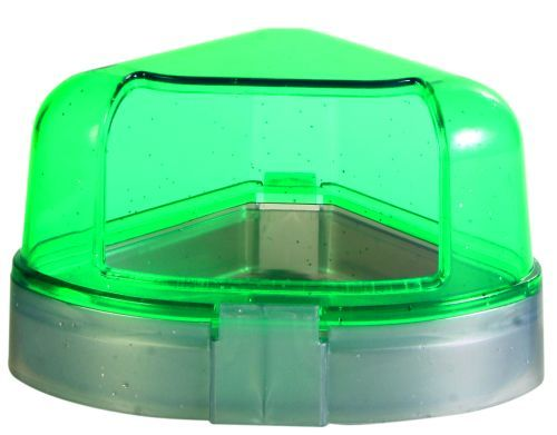 Ecktoilette mit Dach für Hamsterkäfige, 11 × 11 × 8 cm