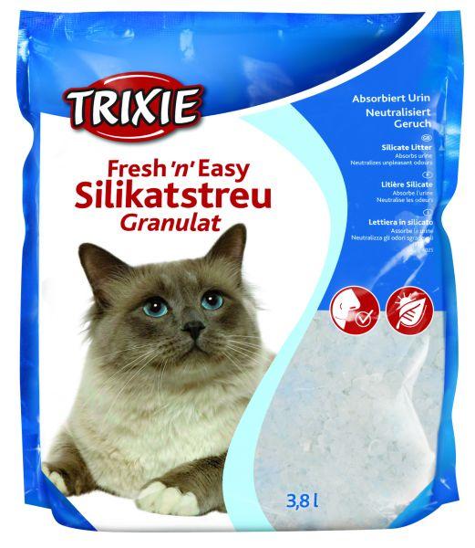 Fresh'n Easy Granulat Katzenstreu, 3,8 l