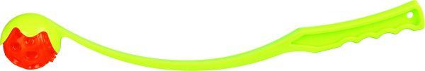 Ballschleuder mit Blinkball, TPR 50 cm/ø 6 cm