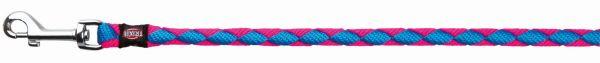 Cavo Leine, S-M: 1,00 m/ø 12 mm, neon-blau/neon-pink
