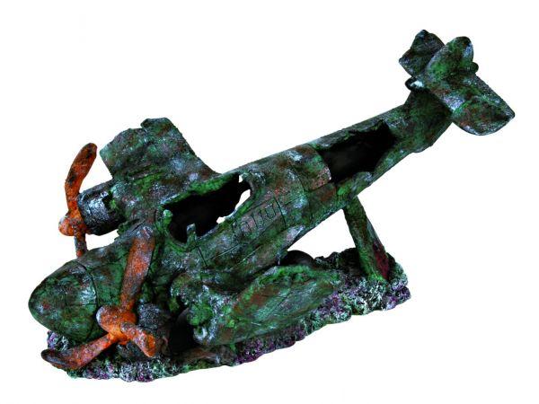 Flugzeug-Wrack, 35 cm