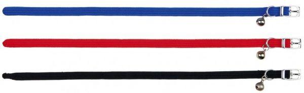 6 Katzenhalsbänder, elastisch, Nylon