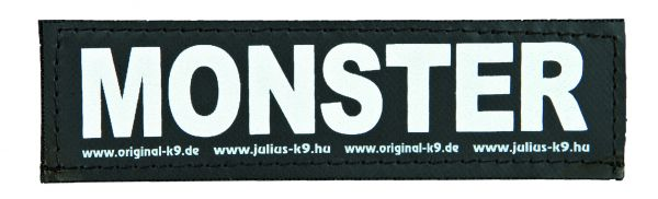 2 Julius-K9 Klettsticker S, MONSTER