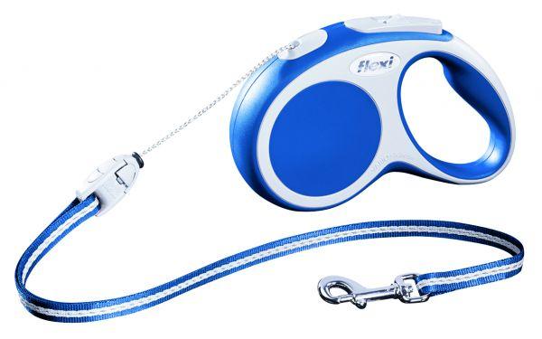 flexi VARIO SMALL, Seil S: 5 m, blau
