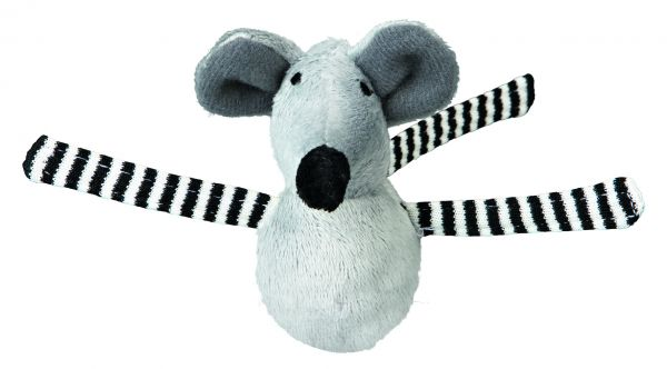 24 Steh-auf-Mäuse Shaky, Plüsch, 8 cm