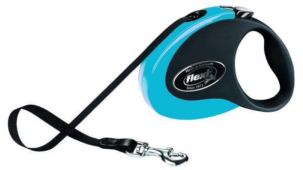 flexi COLLECTION, Gurt, M: 5 m, blau/schwarz