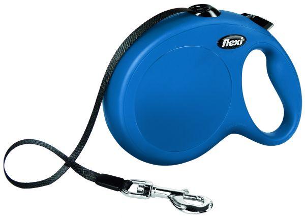 flexi New CLASSIC, Gurt L: 8 m, blau