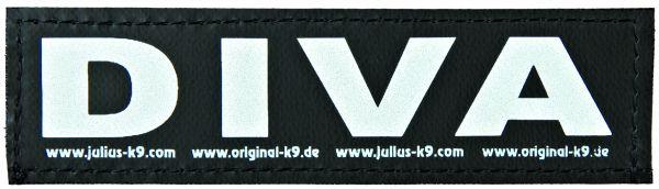 2 Julius-K9 Klettsticker S, DIVA