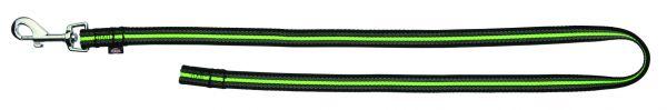 Fusion Trainingsleine, ohne Handschlaufe S-L: 1,00 m/17 mm, schwarz/grün
