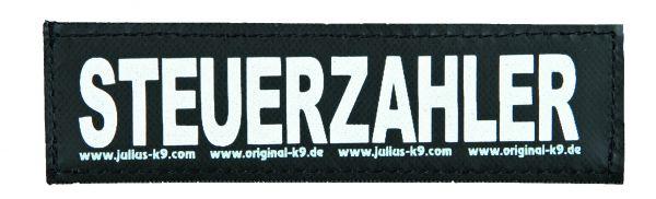 2 Julius-K9 Klettsticker S, STEUERZAHLER