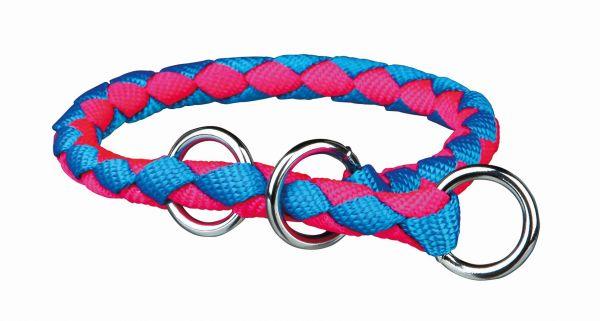 Cavo Würger L-XL: 52-60 cm/ø 18 mm, neon-blau/neon-pink