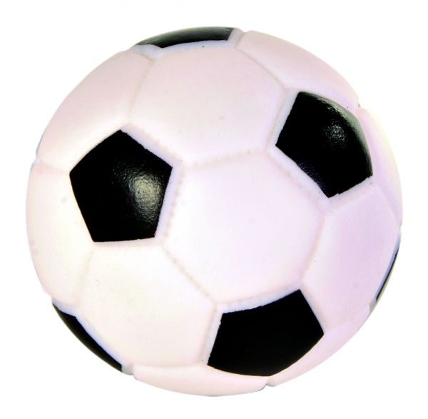 Fußball, Vinyl, ø 10 cm