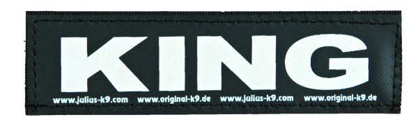 2 Julius-K9 Klettsticker S, KING