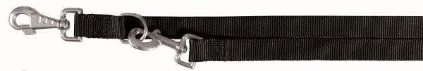 Classic Verlängerungsleine, L-XL: 2,00 m/25 mm, schwarz