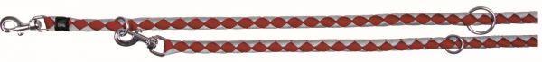 Cavo Verlängerungsleine, L-XL: 2,00 m/ø 18 mm, rot/silber
