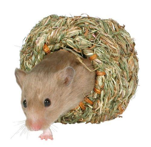 Grasnest für Hamster, klein, ø 10 cm