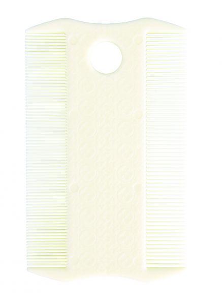 Floh- und Läusekamm, beidseitig, 9 cm
