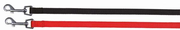 Classic Leine, XS-S: 1,20 m/15 mm, schwarz