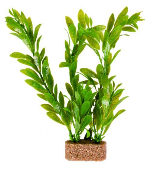 6 Kunststoffpflanzen mit Sandfuß 20 cm
