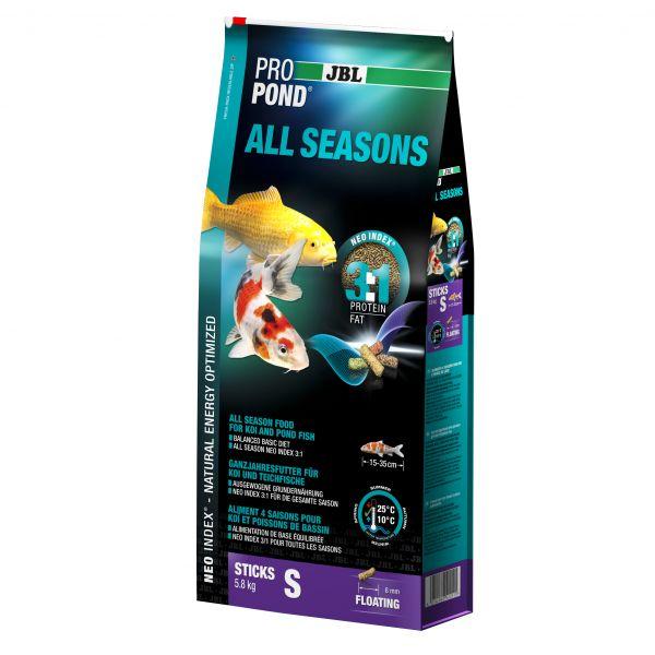 2 Stück JBL ProPond All Seasons S, 2 x 5,8kg