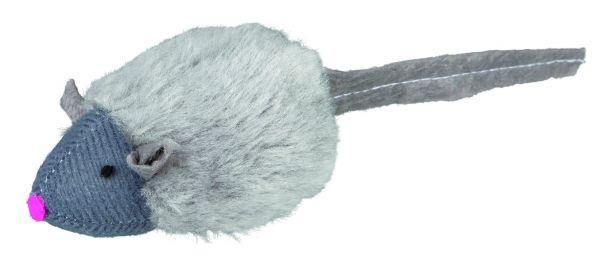 12 Squieky-Mäuse, Plüsch, 6 cm