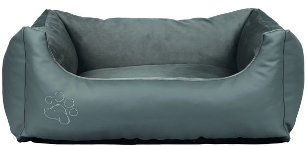 Bett Bino, 80 × 60 cm, grau