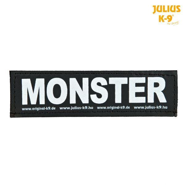 2 Julius-K9 Klettsticker L, MONSTER