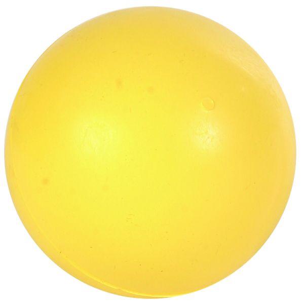 Ball, Naturgummi, einfarbig, ø 7 cm